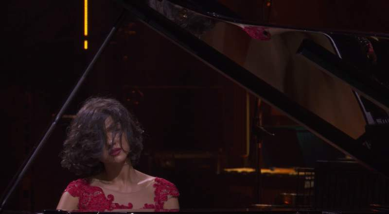 Khatia Buniatishvili at iTunes Festival, September 30, 2014