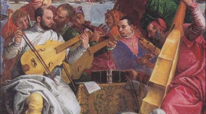 "Paolo Veronese, ""The Wedding at Cana"" - musicians (featured)"