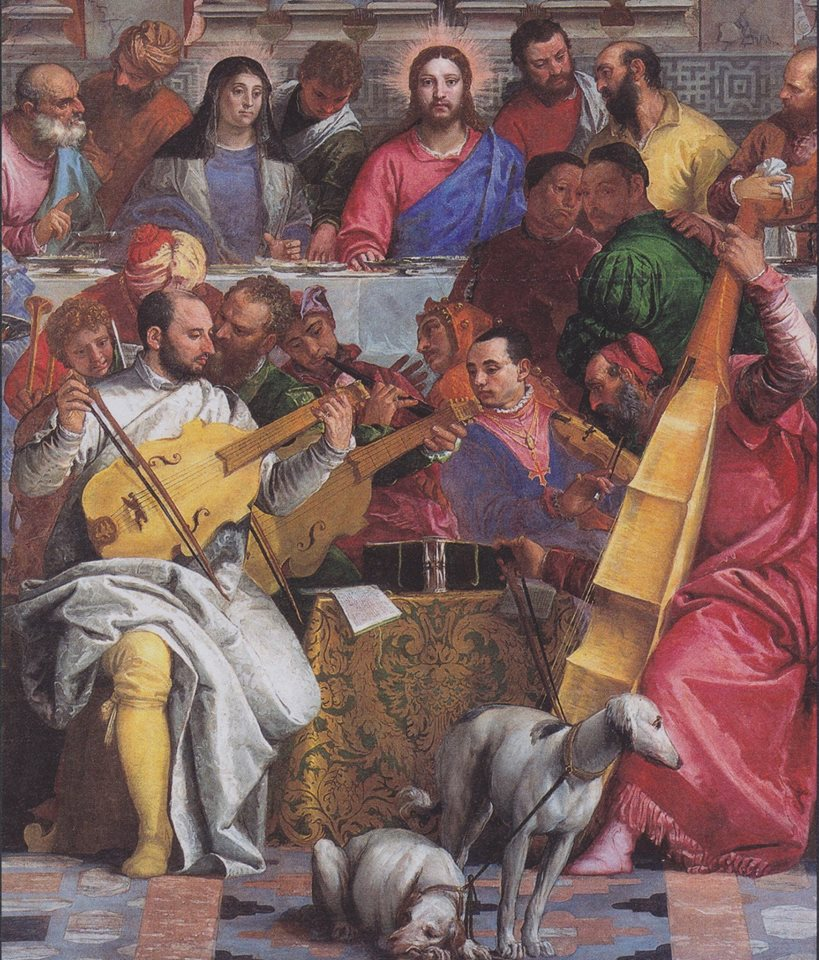 "Paolo Veronese, ""The Wedding at Cana"" - musicians"