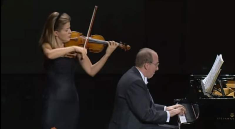 Anne-Sophie Mutter and Lambert Orkis - Beethoven's Violin Sonata No. 9