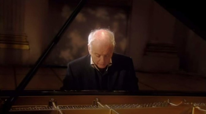 Daniel Barenboim plays Beethoven's Piano Sonata No. 8 Op. 13 (Pathetique)