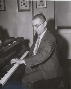 Paul Wittgenstein at the piano