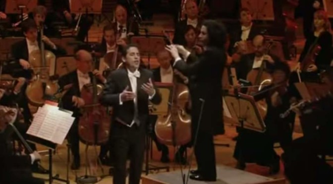 Selections from a Gustavo Dudamel and Juan Diego Flórez concert (2010)