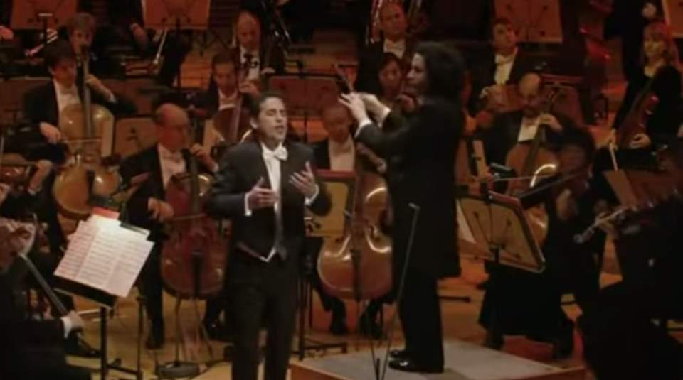 Flórez and Dudamel at Los Angeles