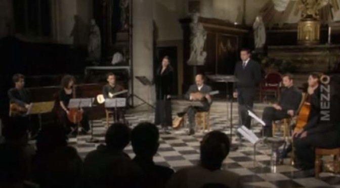 """Music in the Court of Carlos V"", by the early music ensemble Orphénica Lyra"