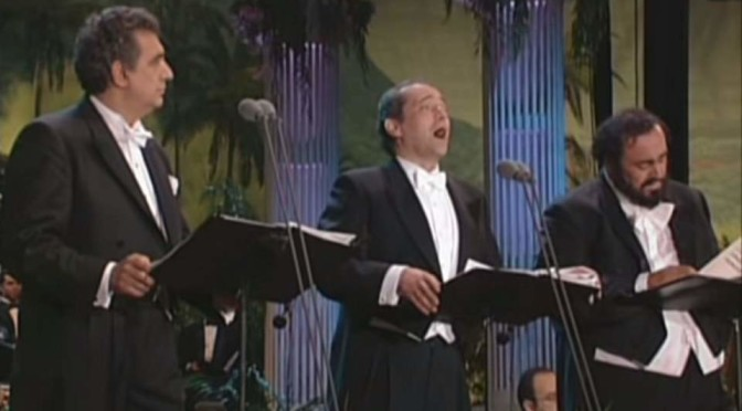 The Three Tenors – Santa Lucia Luntana