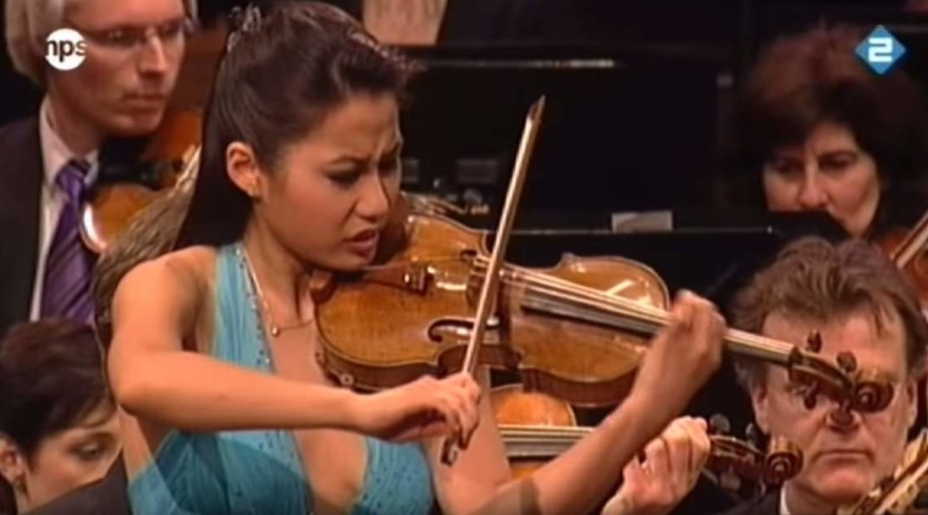 Sarah Chang plays Sibelius violin concerto