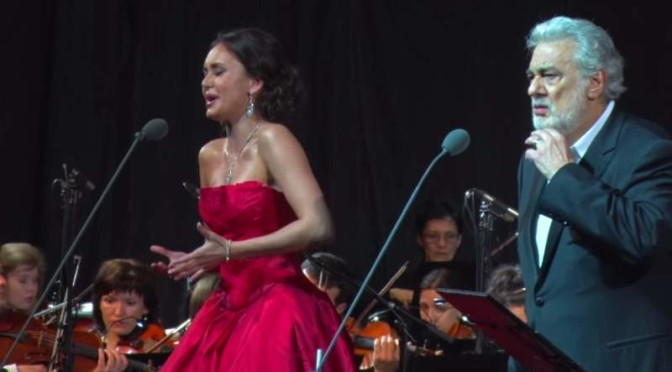 Aida Garifullina and Plácido Domingo - Violetta-Germont duet