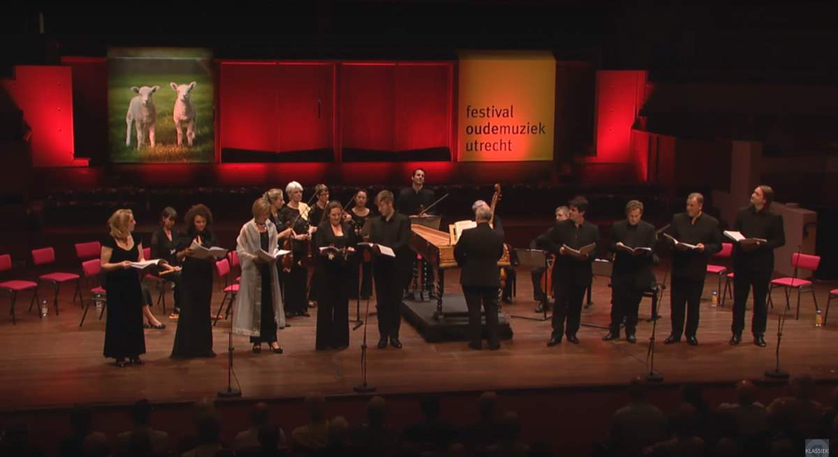 "Dunedin Consort performs ""Venus and Adonis"""