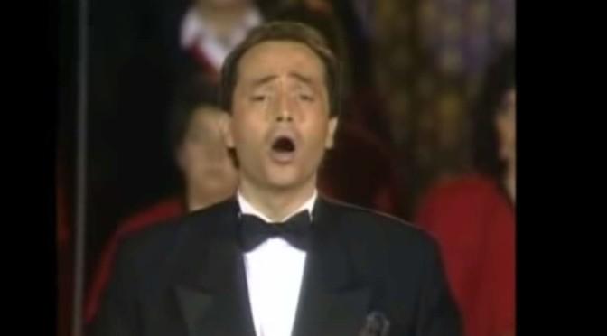 José Carreras - Misa Criolla (Ramírez) 1988