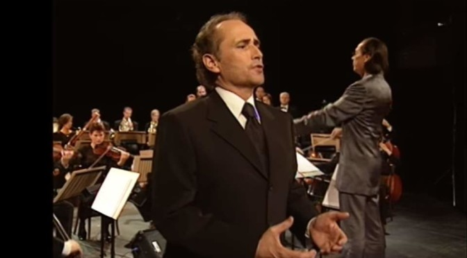 José Carreras sings Paraules d'amor (with the Vienna Symphony Orchestra)