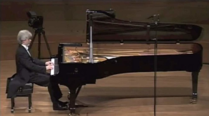 Krystian Zimerman plays Mozart's Piano Sonata No. 10