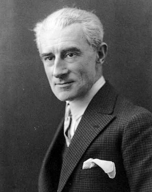 Maurice Ravel in 1925