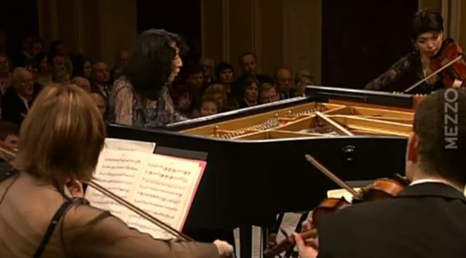 Mitsuko Uchida an the Camerata Salzburg perform Mozart's Piano Concerto No. 20
