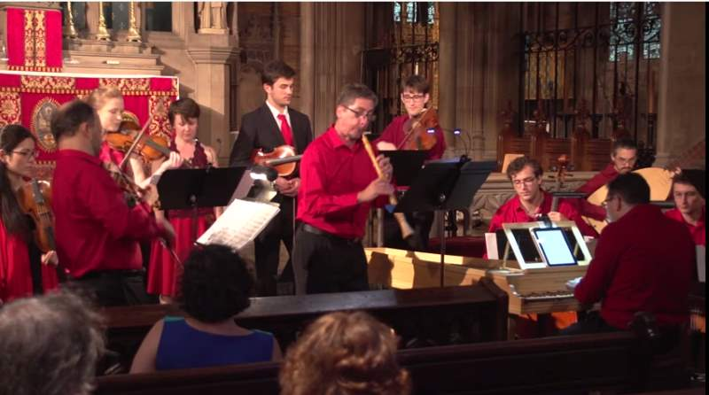 New York Baroque Incorporated performs Ouverture-Suite, TWV 55:e1 from Georg Philipp Telemann's Tafelmusik