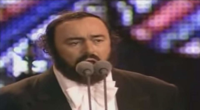 Pavarotti sings Mattinata