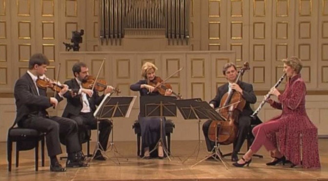 The Hagen Quartet and Sabine Meyer play Mozart's Clarinet Quintet