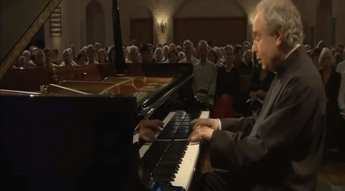 András Schiff plays Johann Sebastian Bach's French Suites