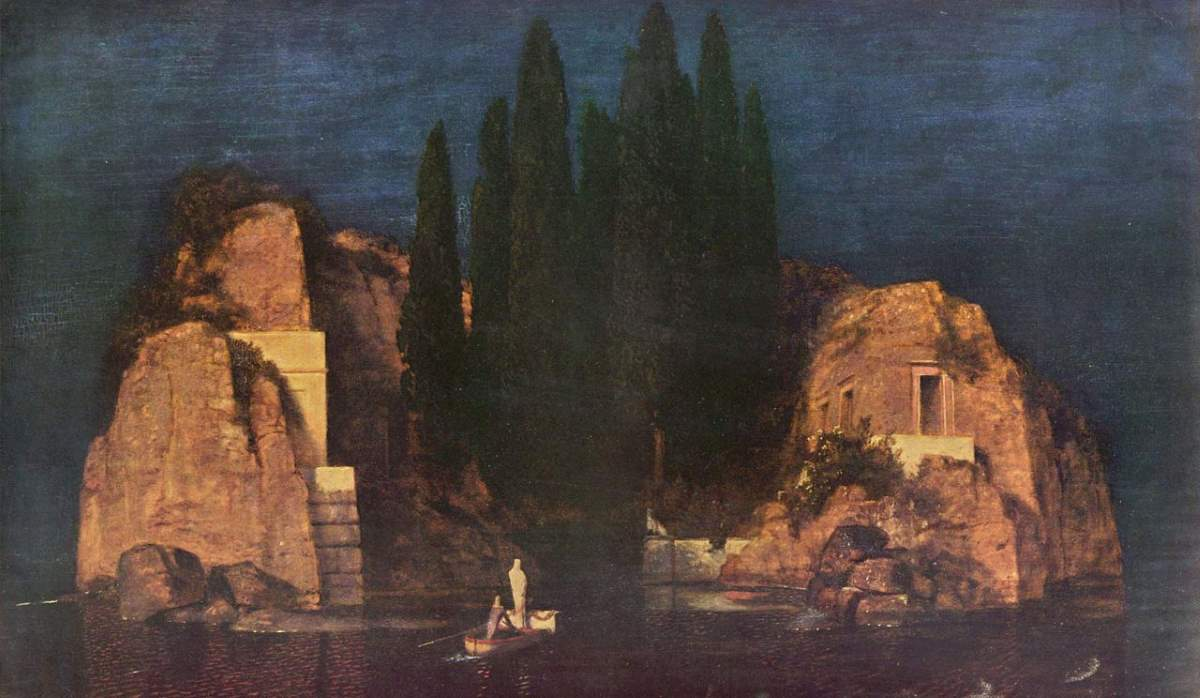 Arnold Böcklin, The Isle of the Dead (Die Toteninsel) - The New York version