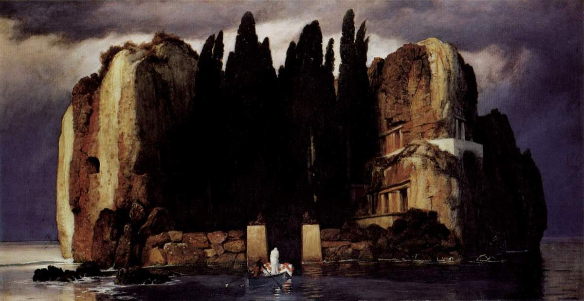 Arnold Böcklin, The Isle of the Dead (Die Toteninsel) - The fifth version