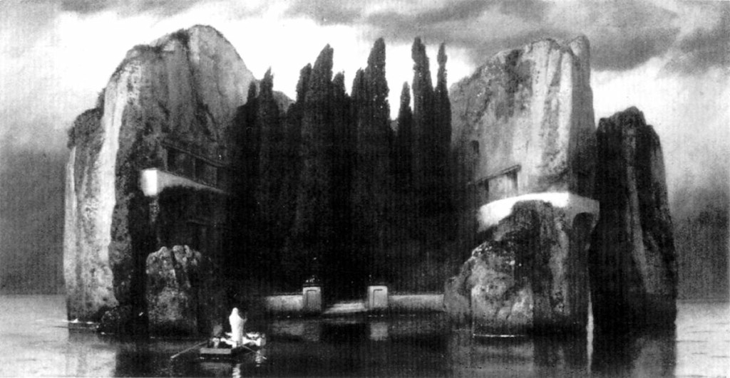 Arnold Böcklin, The Isle of the Dead (Die Toteninsel) - The fourth version