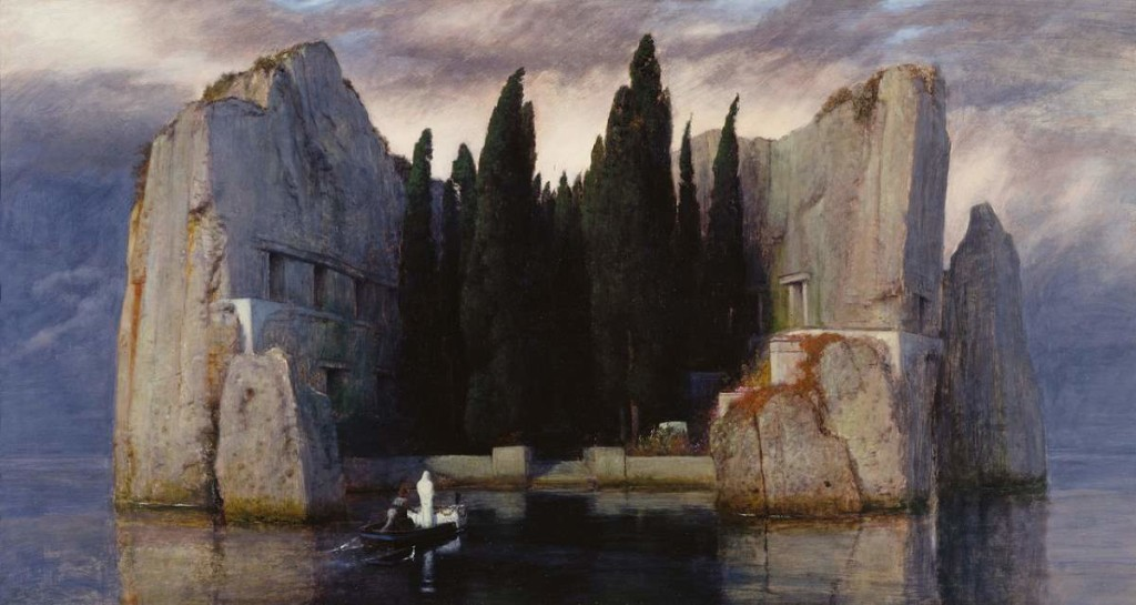 Arnold Böcklin, The Isle of the Dead (Die Toteninsel) - The third version