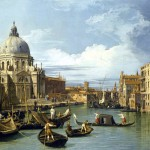 Canaletto – The Grand Canal and the Church of the Salute