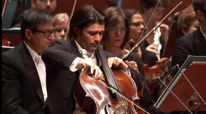 Gautier Capuçon performs Dmitri Shostakovich's Cello Concerto No. 1