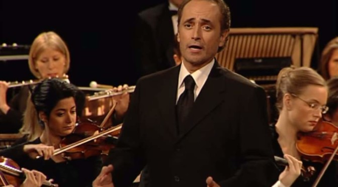 José Carreras sings Island in the sun