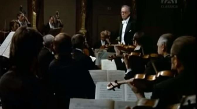 Mozart – Eine kleine Nachtmusik (Wiener Philharmoniker conducted by Karl Böhm)