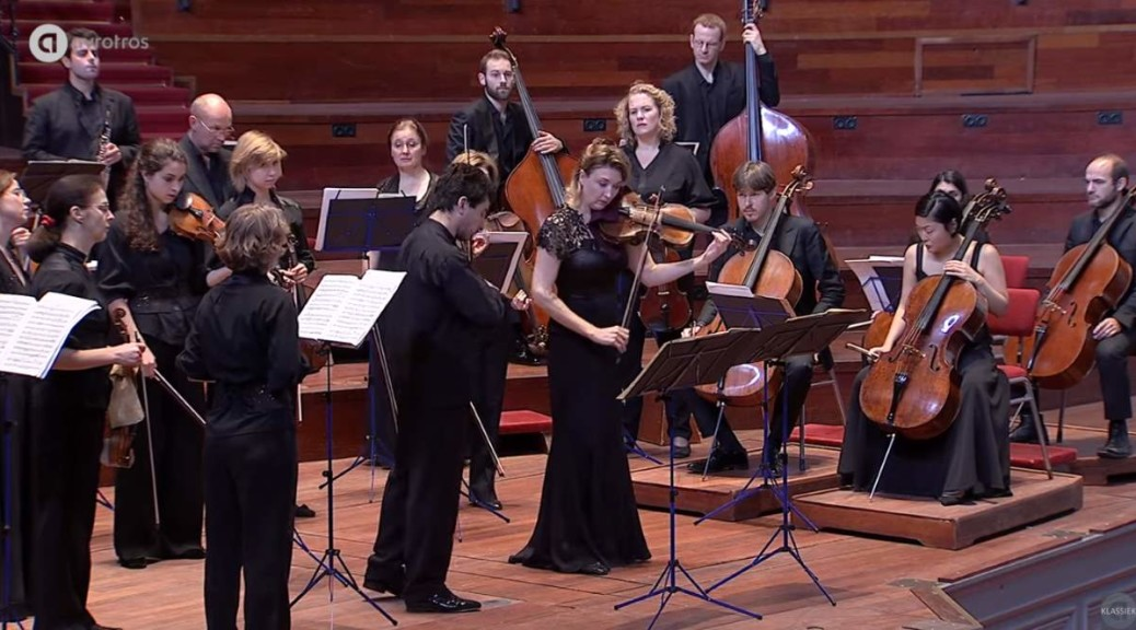 Amsterdam Sinfonietta (Candida Thompson and Sergey Khachatryan) - Mozart - Sinfonia Concertante