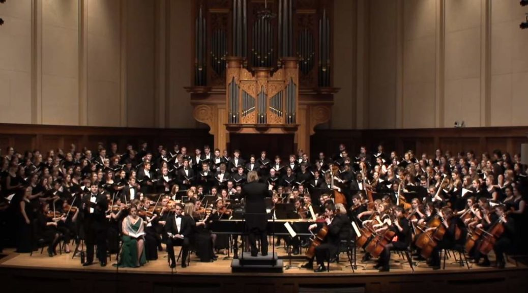 Lawrence Symphony Orchestra and Choirs - Haydn - The Creation