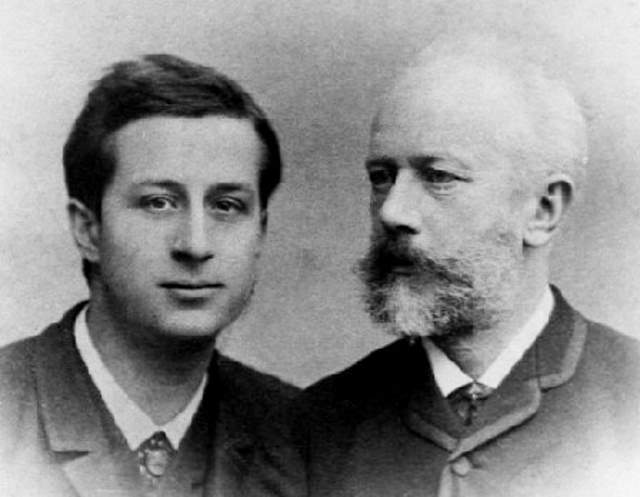 Siloti with Tchaikovsky
