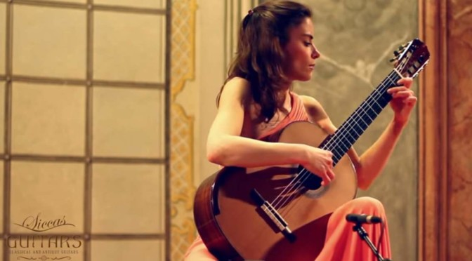 Ana Vidović plays Granada by the Spanish composer Isaac Albéniz