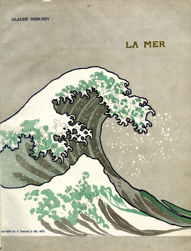 Cover of the 1905 edition of La Mer