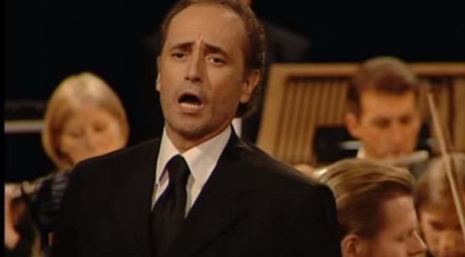 José Carreras sings Midnight in Moscow