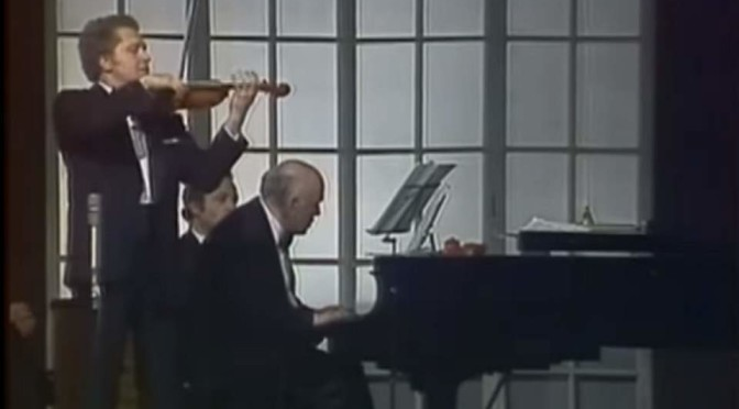 Oleg Kagan and Sviatoslav Richter plays Schubert's Violin Sonata in A Major, D 574