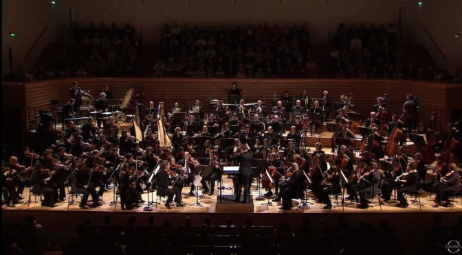 Orchestre de Paris plays Debussy's Le Mar
