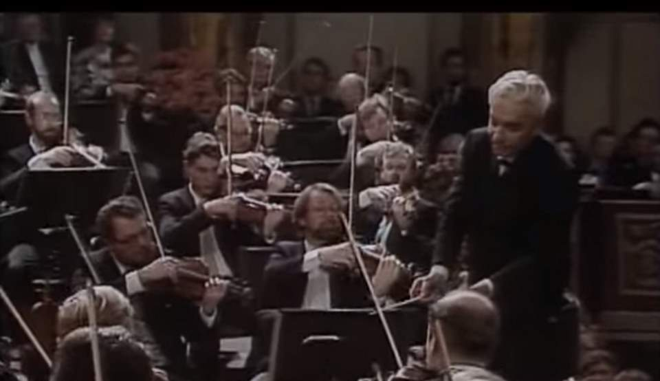 The Blue Danube, Karajan (Vienna, 1987)