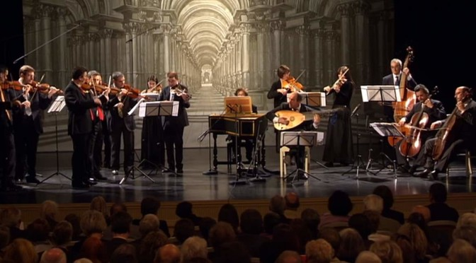 Venice Baroque Orchestra performs Antonio Vivaldi's Symphony in G Major, RV 146
