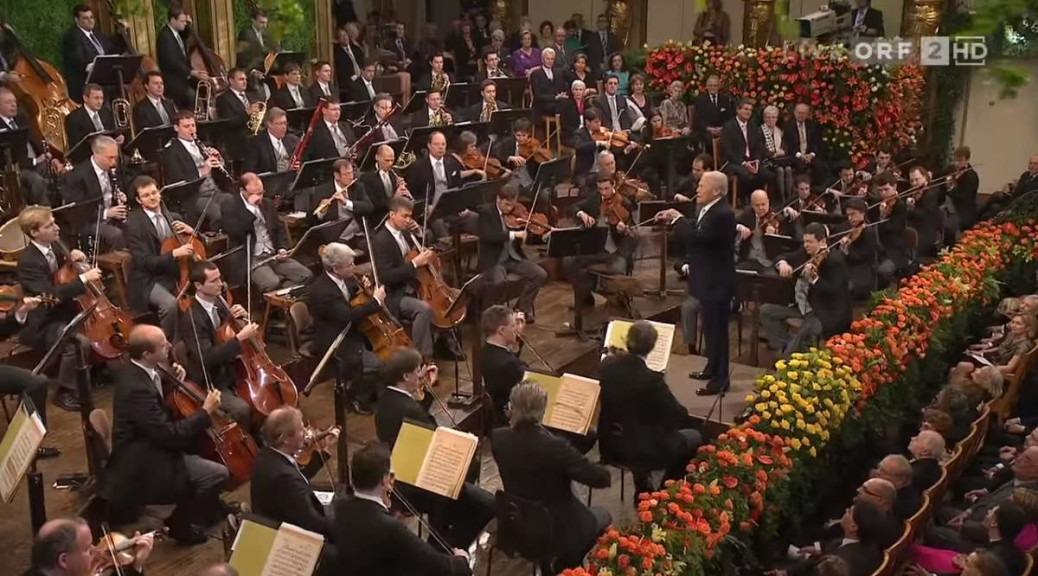 Wiener Philharmoniker's New Year Concert in 2010 (Georges Prêtre)