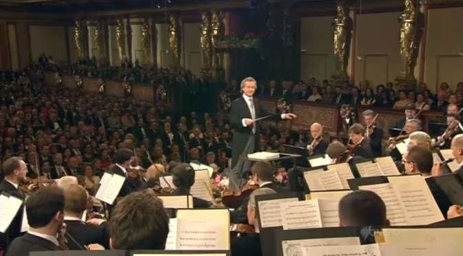 Vienna Philharmonic Orchestra's (the Wiener Philharmoniker) New Year Concert in 2013