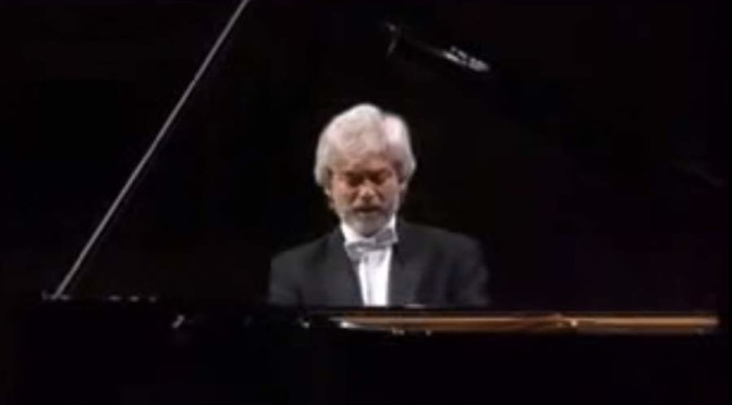 Zimerman plays Ludwig van Beethoven's Piano Sonata No. 8