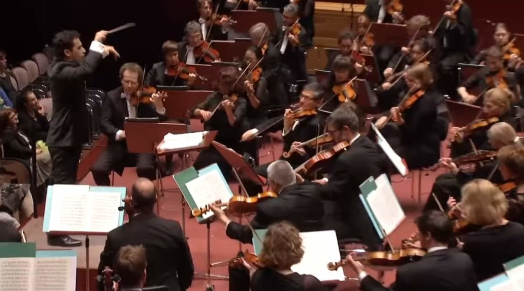 "hr-Sinfonieorchester performs Igor Stravinsky's ""The Rite of Spring"""