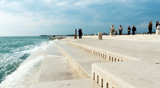"""Sea Organ"" turns Mediterranean Waves into Music"