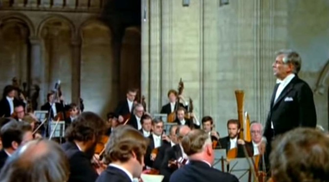 "Bernstein & London Symphony performs Gustav Mahler's Symphony No. 2, known as the ""Resurrection Symphony"""