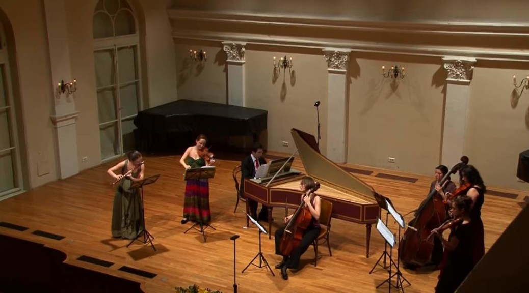 Croatian Baroque Ensemble performs Bach's Brandenburg Concerto No.5