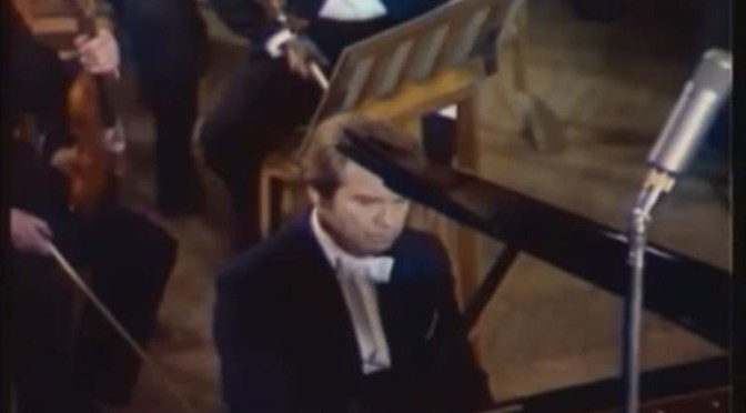 Emil Gilels plays Robert Schumann's Arabeske