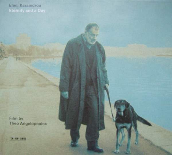 Eternity and a Day soundtrac album cover (Eleni Karaindrou)