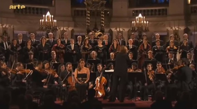nsula orchestra performs Wolfgang Amadeus Mozart's Great Mass in C minor